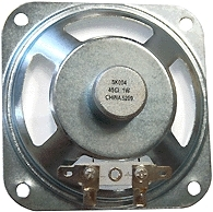 "Alpha Communications Speaker-3.5"" Sq.--45 Ohm-Mylar"