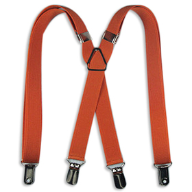 "TopTie 27"" Adorable Child Size X-Back Suspenders - Orange"