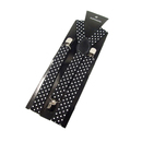 TopTie Mens/Womens Leopard Spotted & Dots Y-Back 1 Inch Adjustable Suspenders