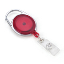 Red Retractable Badge Clips 10 PCS