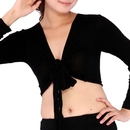 BellyLady Belly Dance Long-sleeve Wrap Top Banadge Top, Gift Idea