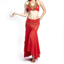 (Price/2 pcs) BellyLady Professional Dancing Costume Set, Fishtail Skirt And Top Set