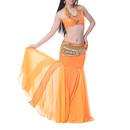 BellyLady Mermaid Maxi Skirt For Belly Dancer, Tribal Dancing Skirt