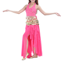 BellyLady Stylish Belly Dance Tribal Stamping Skirt, With Side Slit