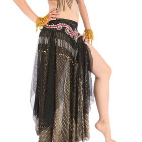 BellyLady Belly Dance Chiffon Multi-Layered Skirt