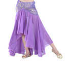 BellyLady Glossy Chiffon Mermaid Belly Dance Skirt, Beyy Dance Costume Skirt