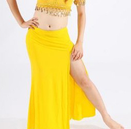 BellyLady Belly Dance Slitted Skirt