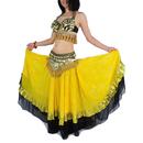 BellyLady Gypsy Belly Dance Professional Costumes Set, Tribal Bra & Belt