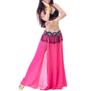 BellyLady Belly Dance Chiffon Skirt, Serenity Serenade