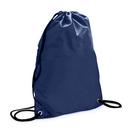TOPTIE Dark Blue Nylon Drawstring Tote Bag Cinch BackPack