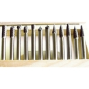 ABS Import Tools 12 Piece 1/4Inch Shank Double Cut Carbide Burrs Set