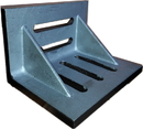 ABS Import Tools 7 X 5-1/2 X 4-1/2 Inch Slotted Angle Plate (Webbed)