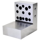 ABS Import Tools 4 X 4 X 3 X 1-1/8 Inch Steel Right Angle Plate (2-Side)