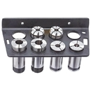 ABS Import Tools 8 Piece 5C Collet Rack