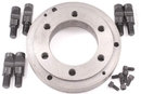 ABS Import Tools 8 Inch D-Mount (D-5) Back Plate For 3-Jaw Chuck