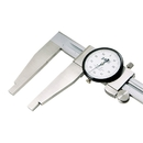 ABS Import Tools 18 Inch Extra Long Heavy Duty Dial Caliper Jaw Length 3 3/8