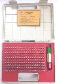 ABS Import Tools Pro-Quality 190 Piece Pin Gage Set With Cert(.061-.250 Inch)