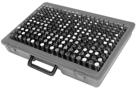 ABS Import Tools 190 Piece (M1) Pin Gage Set (.061-.250 Inch)