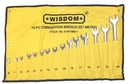 ABS Import Tools 15 Piece Combination Wrench Set (6-24Mm)