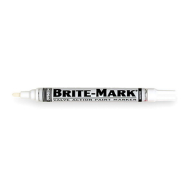 ABS Import Tools Dykem Brite-Mark Marker White (Reg. Line)