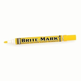 ABS Import Tools Dykem Brite-Mark Marker Yellow (Reg. Line)