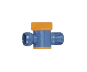ABS Import Tools 1/4 Inch Male NPT Valve For 1/4Inch Coolant Hose (5 Piece)