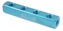 ABS Import Tools 8401-0310 4 - Port Straight Manifold Only 3/8 (Inlet) &Amp; 1/4 (Outlet)