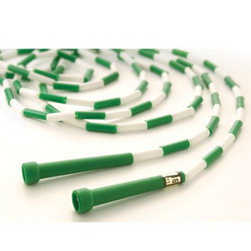 US Games 16' Segmented Skip Rope Green/White - 16' Green/White, Price/EA