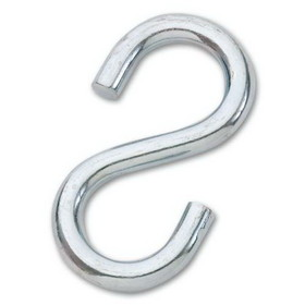"Gamecraft 3/8"" Galvanized Large S-Hook, Price/EA"