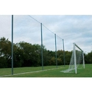 "Alumagoal All Purpose Backstop System System with 1 3/4"" Netting only"