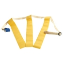 Triple Threat Flag Football Belts - Yellow Flags