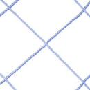 BSN Sports Funnet Replacement Net - 6' x 8' - Replacement Net - 3mm, Blue only