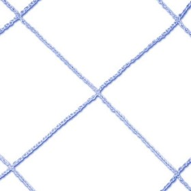 SSG / BSN Funnet Replacement Net - 4' x 6' - Replacement Net - 3mm, Blue, Price/EA