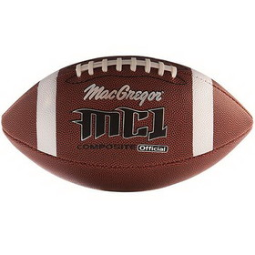 MacGregor Official Composite Football - Official Size, Price/EA