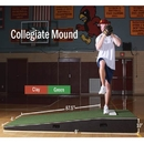 "ProMounds Practice Mound with Turf-H.S./College - Size - 10""H x 4'W x 9'L only"