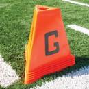 BSN Sports Poly Flag Football Sideline Markers - 5 Piece Set only