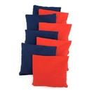 BAGGO Baggo Bean Bags Set of 8 - Replacement Bean Bags - 4 Red + 4 Blue only