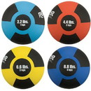 Champion Rubber Medicine Balls - 1 each 2.2, 4.4, 6.6 and 8.8 lb only