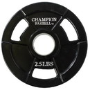 Champion 2.5lb Rubber Coated Grip Plate - 2.5 lb. only