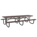 Ultra Play 12' Heavy Duty Shelter Table Diamond - 12' Diamond <p>Walk-Thru</p> only