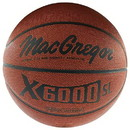 "MacGregor Mens X6000 SL Basketball - Official Size (29.5"") only"