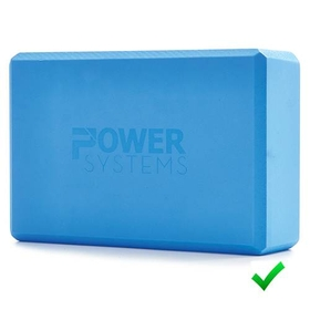 "Yoga Blocks 3"" - Blue - 3"" Thick, Price/EA"
