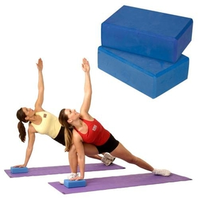 "Yoga Blocks 4"" - Blue - 4"" Thick, Price/EA"