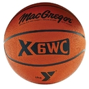 "Normalteile Macgregor X35Wc Rubber Basketball W/Ymca Logo - Official Size (29.5"")"