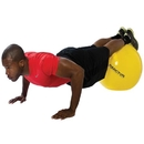 BSN Sports Anti Burst Fitness Balls 45Cm - Purple - 45cm - Purple only