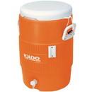 Igloo Water Cooler Orange - Orange - 5 Gal. w/Seat Top only