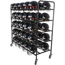 Football Helmet Cart - Football Helmet Cart - Black