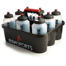 Bottle Carrier with 8 Quart Bottles - Carrier & 8 Bottles