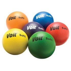 "Voit 6-1/4"" ""Softi"" Tuff Balls - 6 1/4"" ""Softi"" (Specify Color), Price/EA"