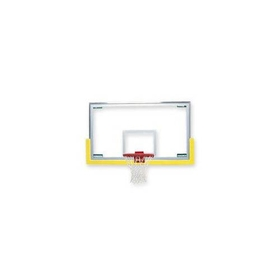 Bison Unbreakable Short Glass Backboard - Backboard with Padding, Price/EA
